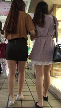街拍窈窕的裹臀裙牛仔热裤翘臀美眉[vd1.01-SV99]